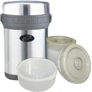 """Термос  """"Биосталь """" HR (NR)-1500-1 1.5 л с тремя контейнерами для пищи."""